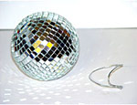 4 inch Disco Ball with String