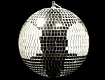 8 inch Disco Ball with Base