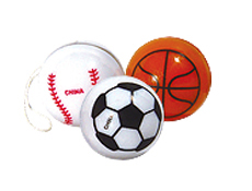 "1"" Sports Ball Yoyo-Assorted"