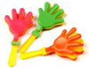 7 inch Neon Hand Clackers-Assorted