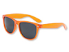 Transparent Orange Blues Brother Sunglasses