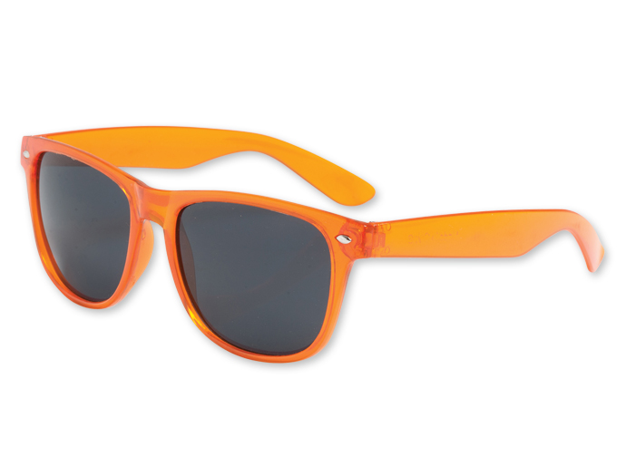 Orange Sunglasses  4funparties com transpa orange blues brother sunglasses