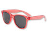 Transparent Red  Blues Brother Sunglasses