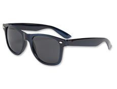 Metallic Navy Blue Blues Brother Sunglasses