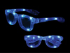 S70588 - LED Iconic Glasses - Blue