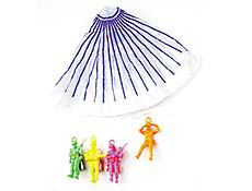 "7"" Paratrooper Men- Assorted"