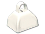 3 inch White Cowbell