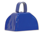 3 inch Blue Cowbell