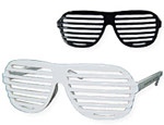 K West Black/White Shades