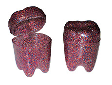 "1.25"" Glitter Tooth Savers"