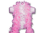 Super Deluxe Pink Feather Boa