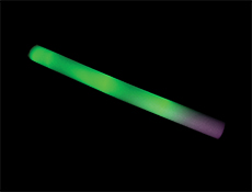 S90079 - LED Foam Light Stick - Green