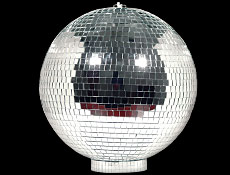 12 inch Disco Ball with Base