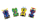 4 inch Race Cars Assorted