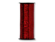 Red Holographic Curling Ribbon 100YD