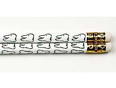 "7.5"" Smiley Face Tooth Pencils"