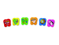 "1.5"" Tooth Mess Erasers-Assorted"