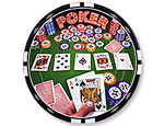 Poker Party 7 inch Plates