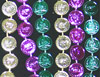 Mardi Gras Coin Bead Necklaces
