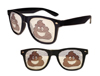 WP1309 - Poop Emoji Pinhole Glasses