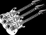 Black & White Guitars