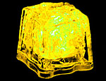Yellow LED Ice Cubes
