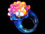 Flashing Dome Ring