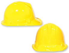 Yellow Construction Hats