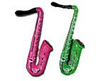 Multi Color Inflatable Saxophone
