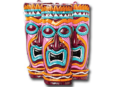 Tiki Mask Decoration