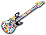 Groovy Guitar Inflatables